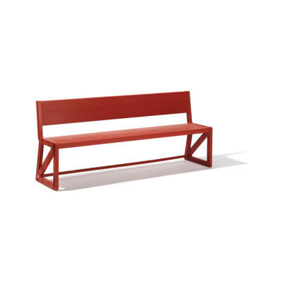 Stijl bench by Lampert