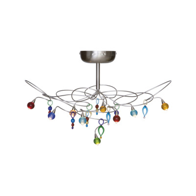 Strawberry ceiling light 9-multicolor by HARCO LOOR