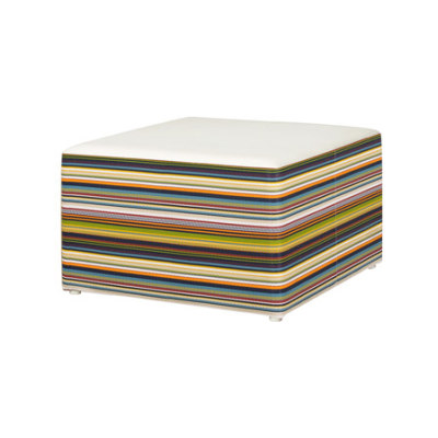 Stripe ottoman horizontal by Mamagreen