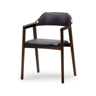 Ten Armchair - Back Resin by Conde House Europe