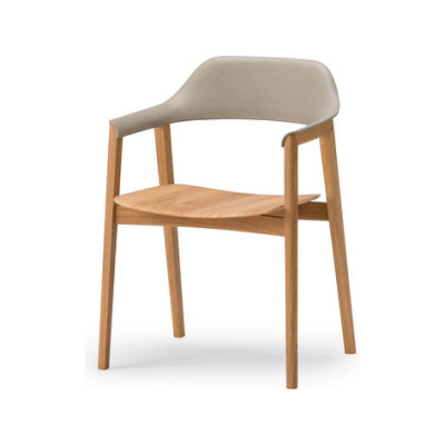 Ten Armchair - Back upholstered by Conde House Europe