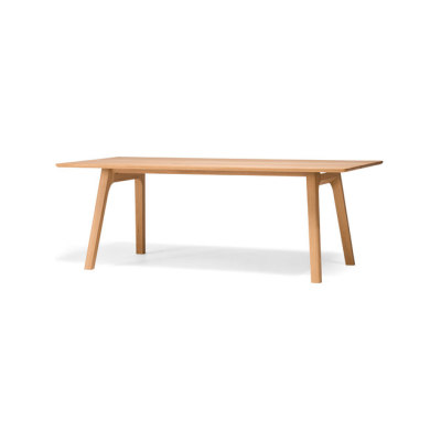 Ten Table 210 oak solid by Conde House Europe