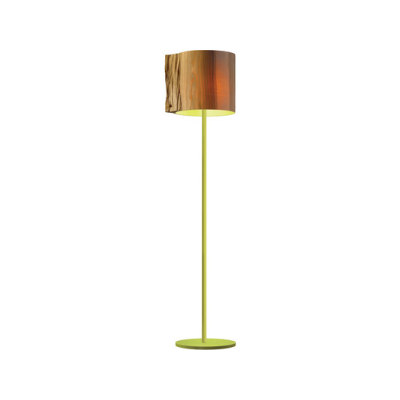 The Wise One Green floor lamp by mammalampa