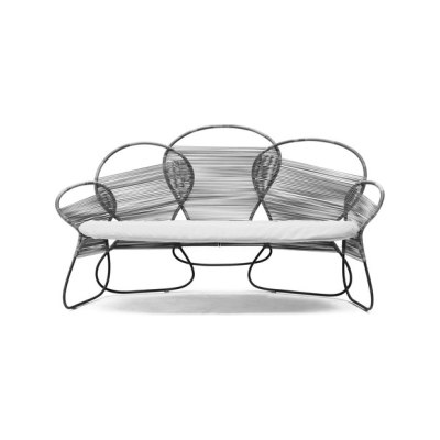 Trame Loveseat by Kenneth Cobonpue