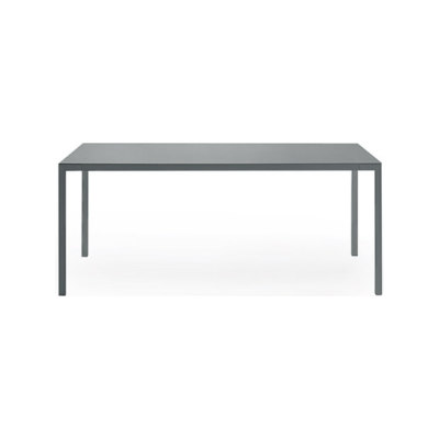 Trevi table by Poliform 180x90x74cm,ferro mat lacquered colours