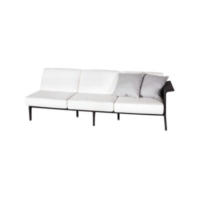 U Module sofa 3 left arm by Point