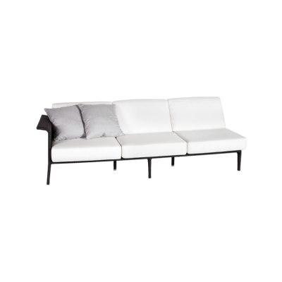 U Module sofa 3 right arm by Point