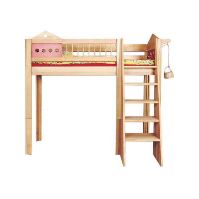 Villa game loft bed DBA-201 by De Breuyn