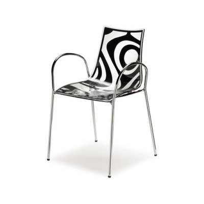 Wave with armrests by Scab Design
