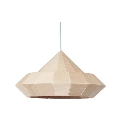 Woodpecker Lamp – Birch Wood by Studio Snowpuppe