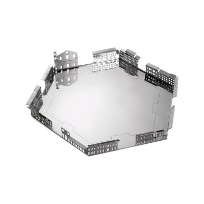 100 Piazze - Palmanova Piazza Grande Tray Stainless Steel