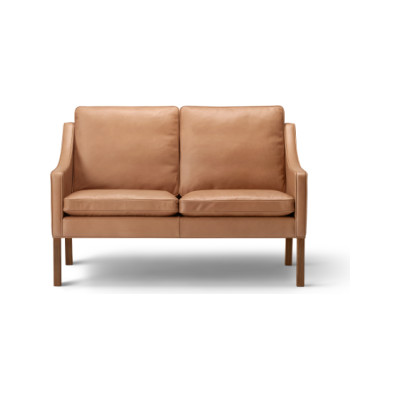 2208 Sofa - 2 Seater Walnut lacquered, Harald 2 182