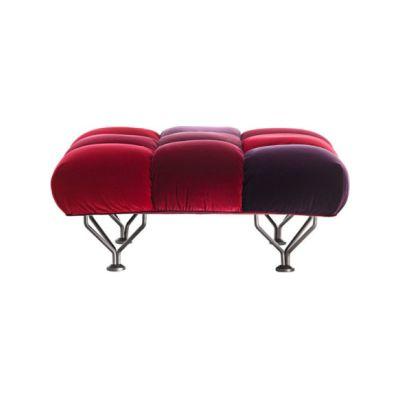 33 Cuscini Ottoman velvet Red velvet
