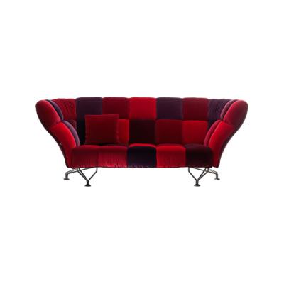 33 CUSCINI sofa Red Velvet