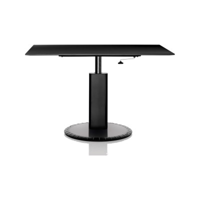 360° Adjustable Table - Rectangular Black