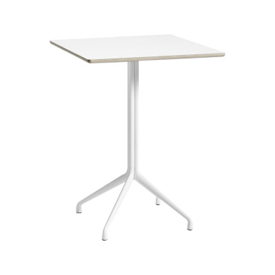 AAT 15 High Table White Tabletop, Same as tabletop