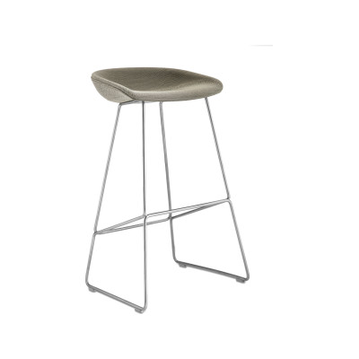 About A Stool AAS39 Coda 2 100, Silver, Low
