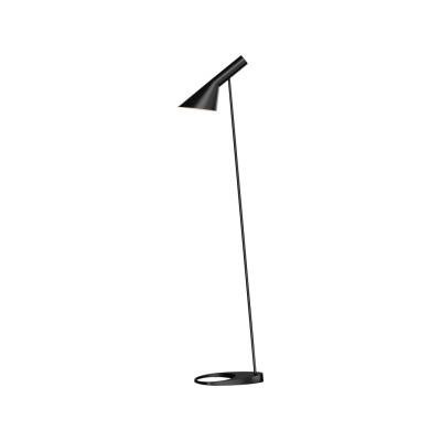 AJ Floor Lamp UK Plug, Black