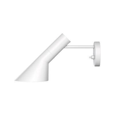 AJ Wall Light UK-Plug, White