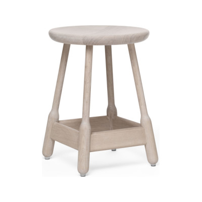 Albert Stool - Set of 2 White Oiled Oak