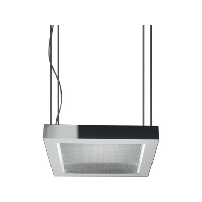 Altrove 600 LED Pendant Direct/Indirect Light Aluminium
