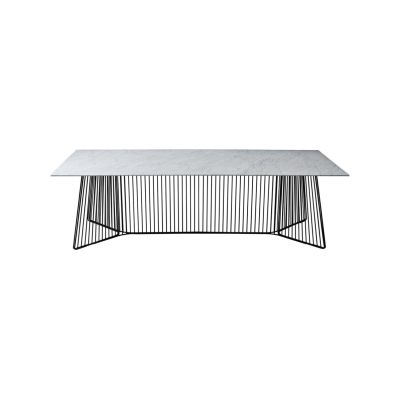 Anapo Rectangular Table Marble Top