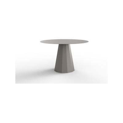 Ankara Large Round Dining Table White - 01 RAL 9016