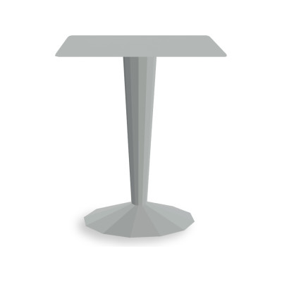 Ankara Square Bistrot Table White - 01 RAL 9016
