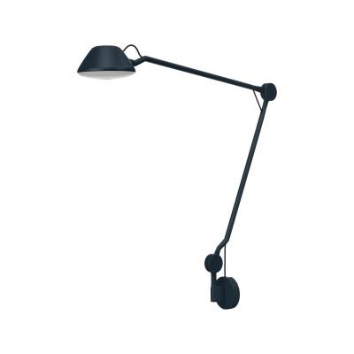 AQ01 Desk Lamp Plug-in + Wall base, Blue