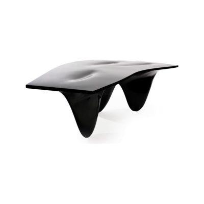 Aqua Table High-Gloss Black