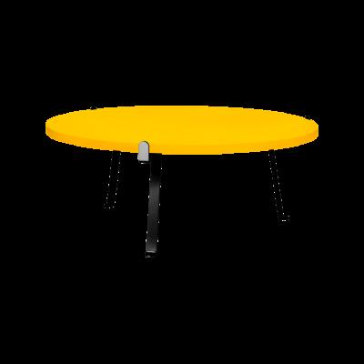 Arch Coffee Table Mango Yellow
