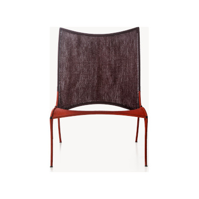 Arco Chair A Oxyde / Rouge