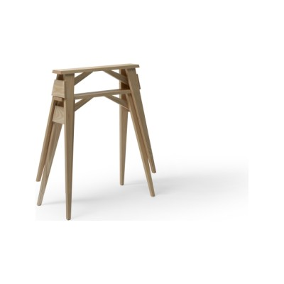 Arco Desk Tretles - Set of 2 Oak