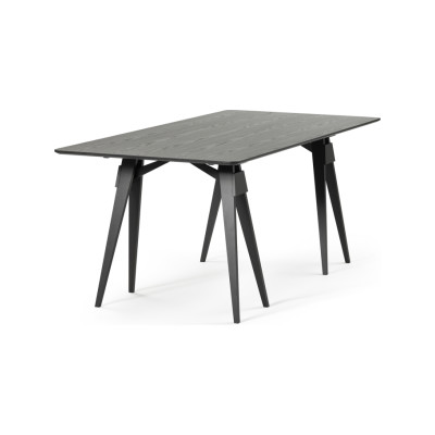 Arco Dining Table White, Ash, 91x182x2cm