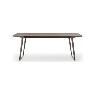 Axy Comfort Dining Table 100x300cm, Graphite Grey, Medium Grey