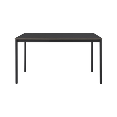 Base 140x80 Table 140 x 80, Grey/Grey Laminate/Plywood