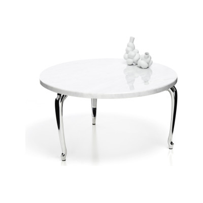 Bassotti Coffee Table - Round Low, Graphite