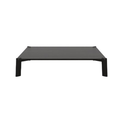 Bay Coffee Table, Square Dark Stained Walnut, Dark Stained Walnut