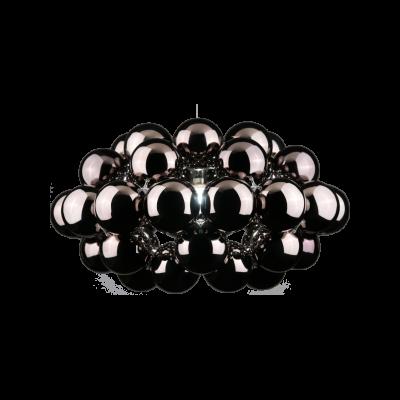 Beads Octo Pendant Light Gunmetal