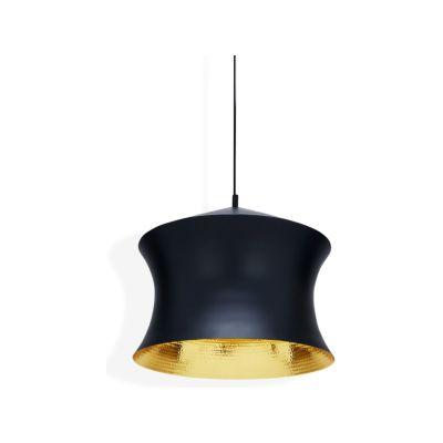 Beat Waist Black Pendant Lamp