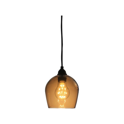 Bell IP44 Pendant Lamp Honey