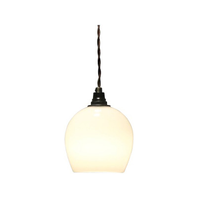 Bell Pendant Light White, 12.5cm