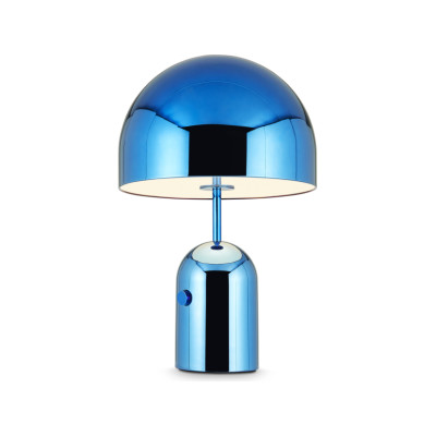 Bell Table Lamp Large Blue