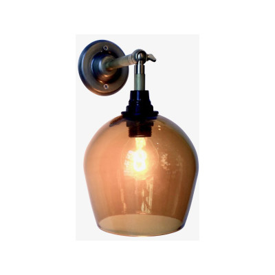Bell Wall Lamp - Hardwire Honey, 12.5cm