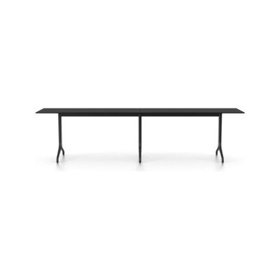 Belleville Rectangular Outdoor Table Solid core material black