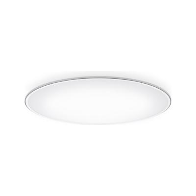 Big Ceiling Light - LED Matt White Lacquer, 100cm, 4000