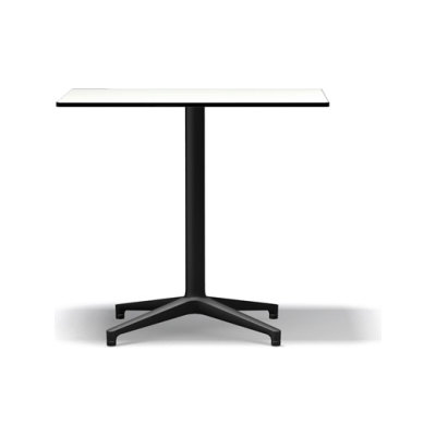 Bistro Rectangular Table Outdoor basic dark solid core material white