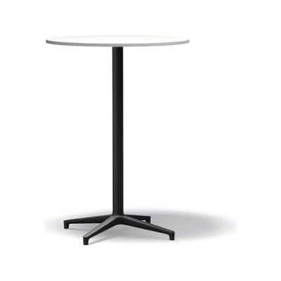 Bistro Stand-up Table, Package of 10 basic dark melamine white, 79.6 cm