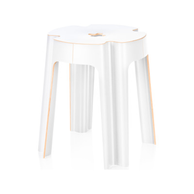 Bloom Stool White