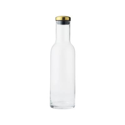 Bottle Carafe - Set of 4 1 L, Brass Lid